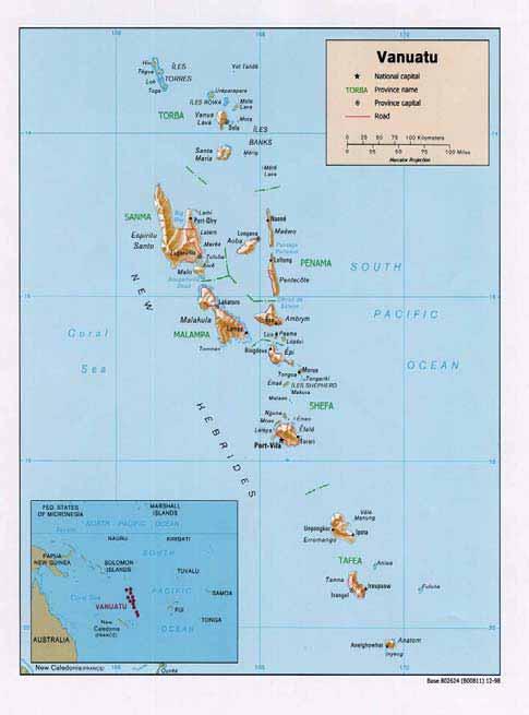 PacLII Vanuatu Review Of National Land Legislation Policy And - Vanuatu map download